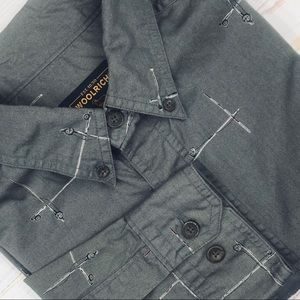 Woolrich Men's LS Casual Shirt. Gently Used.